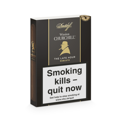 Davidoff Winston Churchill The Late Hour Robusto Cigar - Pack of 4