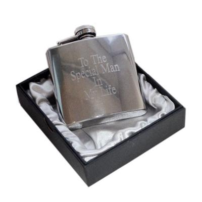 6oz To the Special Man in my Life Design Personalised Hip Flask
