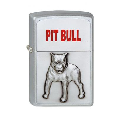 Zippo - PitBull Satin Chrome - Windproof Lighter