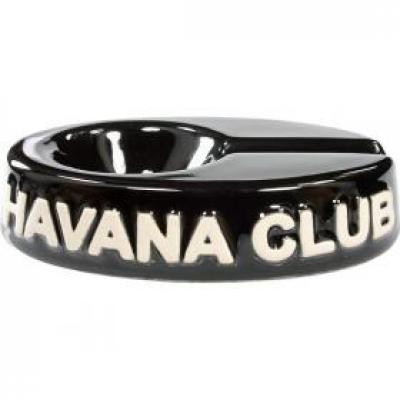Havana Club Collection Ashtray - El Chico Cigarillo Ashtray - Ebony Black