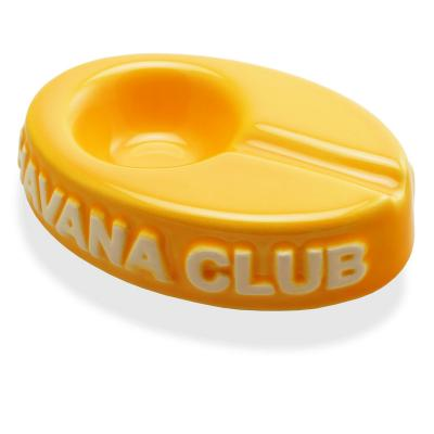 Havana Club Collection Ashtray - El Chico Cigarillo Ashtray - Corn Yellow