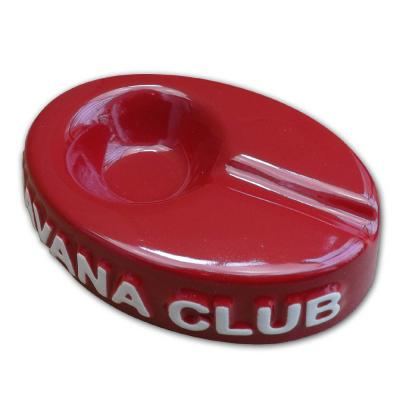 Havana Club Collection Ashtray - El Chico Cigarillo Ashtray - Vermillon Red