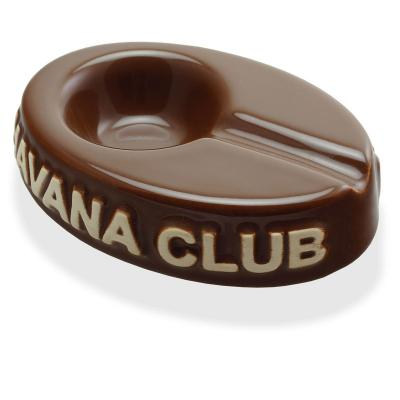 Havana Club Ashtray - El Chico Cigarillo Ashtray - Brown