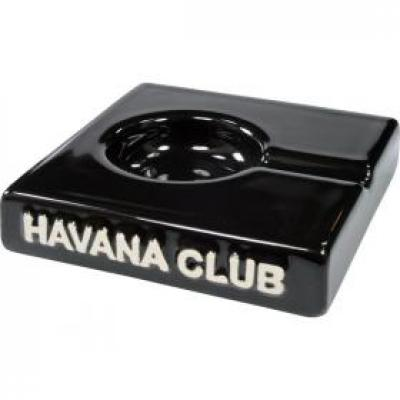 Havana Club Collection Ashtray - El Solito Cigarillo Ashtray - Ebony Black