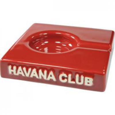Havana Club Collection Ashtray - El Solito Cigarillo Ashtray - Vermillon Red