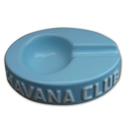 Havana Club Collection Ashtray - Egoista Single Cigar Ashtray - Caribbean Blue
