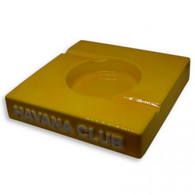 Havana Club Collection Ashtray - El Duplo Double Cigar Ashtray - Corn Yellow