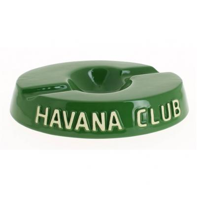 Havana Club Collection Ashtray - El Socio Double Cigar Ashtray - Green
