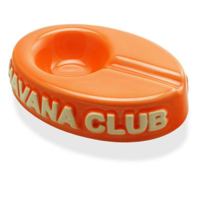 Havana Club Ashtray - El Chico Cigarillo Ashtray - Mandarin Orange