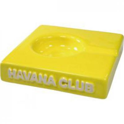 Havana Club Collection Ashtray - El Solito Cigarillo Ashtray - Lime Yellow