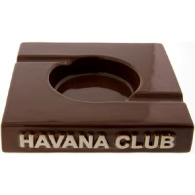 Havana Club Collection Ashtray - El Duplo Double Cigar Ashtray - Brown