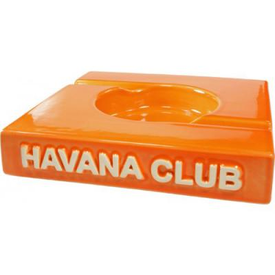 Havana Club Collection Ashtray - El Duplo Double Cigar Ashtray - Mandarin Orange