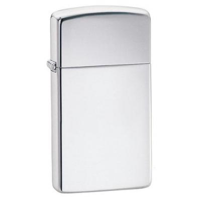 Zippo - High Polished Chrome Slim -  Windproof Lighter
