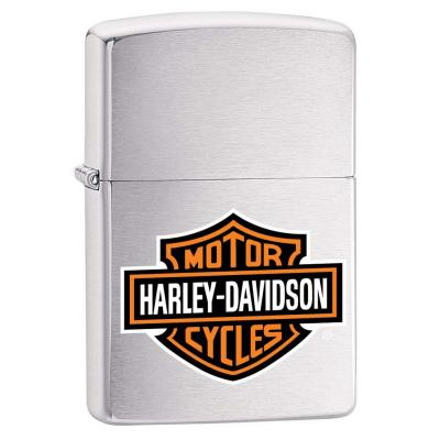 Zippo - Harley Davidson Orange Logo - Windproof Lighter