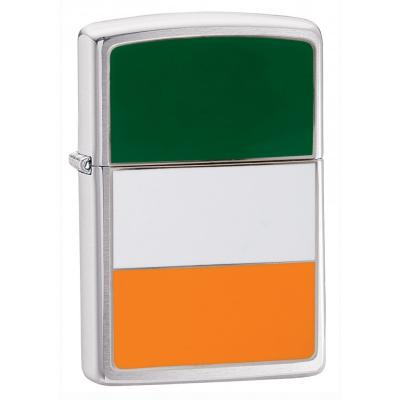 Zippo - Ireland Flag Emblem - Windproof Lighter