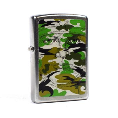 Zippo - Army Camouflage Hidden Face - Windproof Lighter
