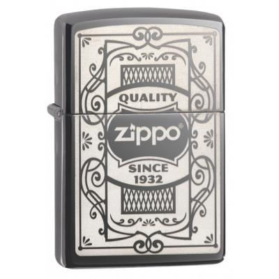 Zippo - Quality Zippo Black Ice - Windproof Lighter