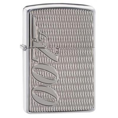 Zippo - James Bond 007 Armor Gun Logo - Windproof Lighter