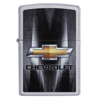 Zippo - Satin Chrome Chevrolet - Windproof Lighter