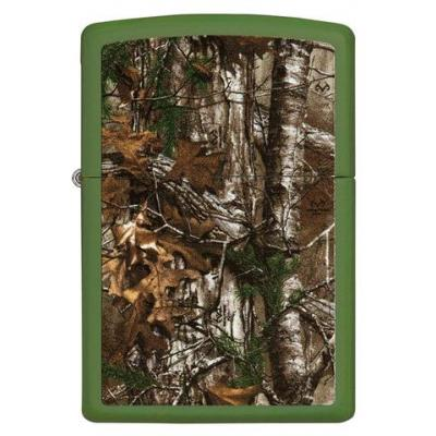 Zippo - Green Matte Realtree Xtra Camo - Windproof Lighter