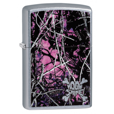 Zippo - Street Chrome - Moon Shine Muddy Girl - Windproof Lighter
