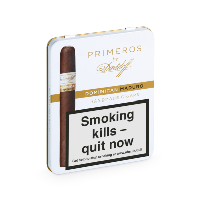 Davidoff Primeros Dominican Maduro Cigar - Tin of 6