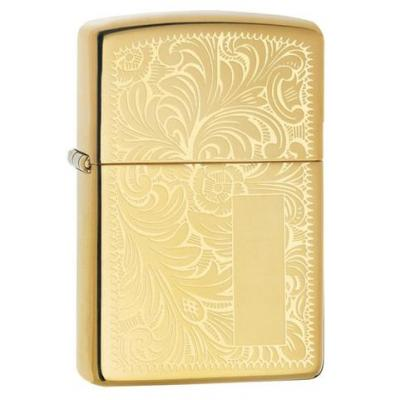 Zippo - High Polished Brass Venetian Regular - Windproof Lighter