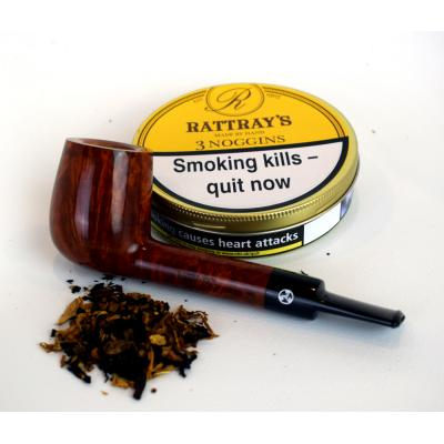 Rattrays 3 Noggins Pipe Tobacco 50g Tin