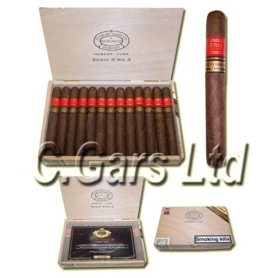 Partagas Serie D No. 3 Limited Edition Maduro (2006) - Box 25s