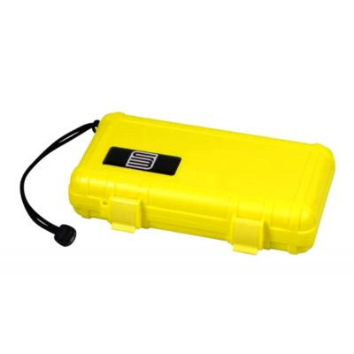 S3 Travel Waterproof Humidor Case - 5 Cigar Capacity - Yellow
