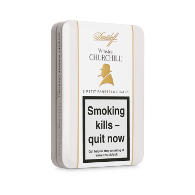 Davidoff Winston Churchill Raconteur Petit Panatela Cigar - Tin of 5
