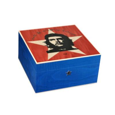 Elie Bleu Che Star Collection Humidor - Limited Edition - 75 Cigar Capacity
