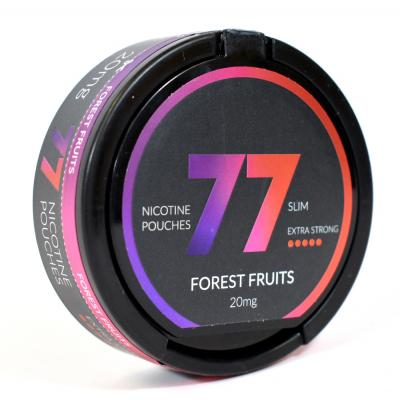 77 Nicopods 20mg Nicotine Pouches - Forest Fruits - 1 Tin