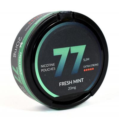 77 Nicopods 20mg Nicotine Pouches - Fresh Mint - 1 Tin