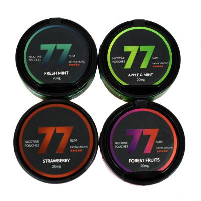 77 Nicopods 20mg Nicotine Pouches - Sampler Pack - 4 Tin