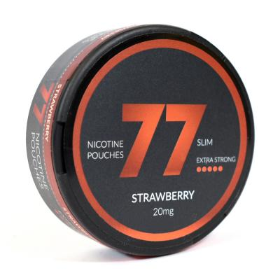 77 Nicopods 20mg Nicotine Pouches - Strawberry - 1 Tin
