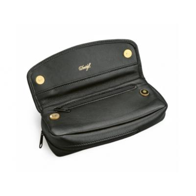 Davidoff TD 500 Black Leather Tobacco Pouch