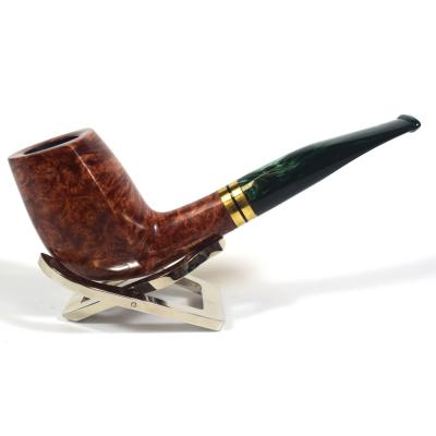 Adams Artisan By Ardor Smooth Brown 9mm Filter Swallowtail Pipe (ART154)