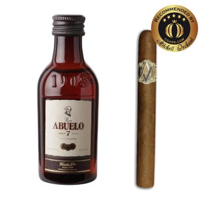 Intro to Pairing - AVO Classic Uvezian Purito + Ron Abuelo 7 Year Old Rum 5cl