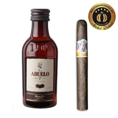 Intro to Pairing - AVO Syncro Fogata Purito + Ron Abuelo 7 Year Old Rum 5cl