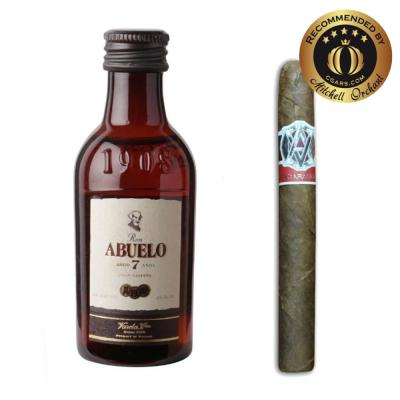 Intro to Pairing - AVO Syncro Purito + Ron Abuelo 7 Year Old Rum 5cl