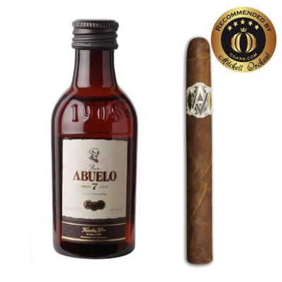 Intro to Pairing - AVO Uvezian Domaine Purito + Ron Abuelo 7 Year Old Rum 5cl