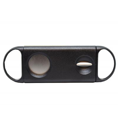Bargain Combination Cigar Cutter - Two in one - V cut and single blade