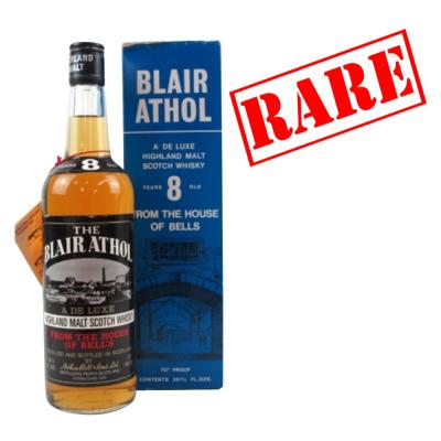 Blair Athol 8 Year Old 1970s - 70 Proof 26 2/3 FL OZS
