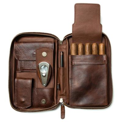 Peter James Castano Aficionado Cigar Case - Castano