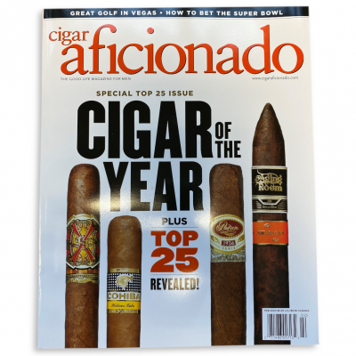 Cigar Aficionado Magazine - January/February 2020