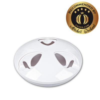 Cigar Oasis Ash-Stay Ashtray - White