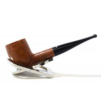 Dr Plumb Meerschaum Lined Metal Filter Fishtail Briar Pipe (DP199)