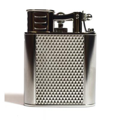 Dunhill - Unique Turbo Lighter - Diamond Pattern Palladium Plated