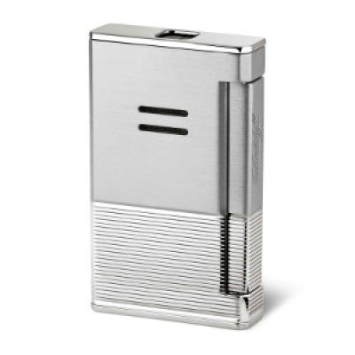 Davidoff Jet Flame Lighter - Brushed and Stripes